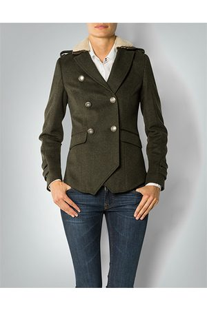 Damen Jacken - Barbour Damen Propeller Jacke Jacke im Military-Look