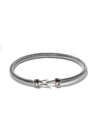 David Yurman 18kt 'Cable' Armband mit 14kt Gelbgold - S8