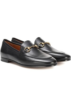 Gucci Loafers Jordaan aus Leder
