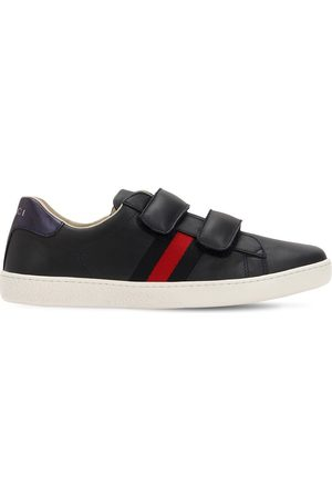 "Gucci RIEMENSNEAKERS AUS LEDER ""NEW ACE"""