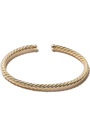 David Yurman 18kt 'Cable Spira' Gelbgoldarmspange - 88