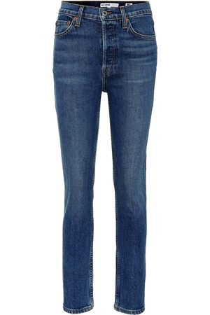 RE/DONE Jeans Mid Rise Kick Flare Crop