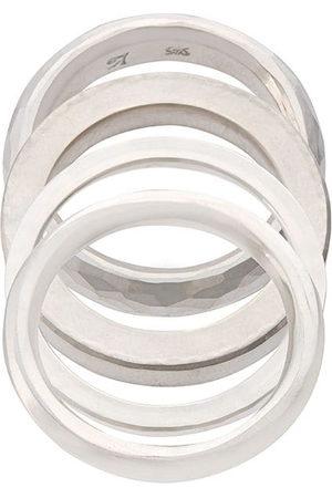 WERKSTATT:MÜNCHEN Flacher Ring - Silver