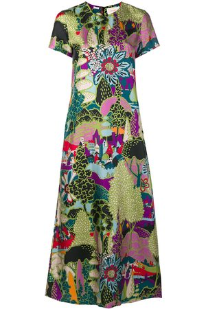 La DoubleJ Damen Freizeitkleider - Seidenkleid mit Print