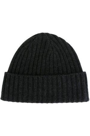 N.Peal Hüte - Kaschmir-Beanie aus Rippstrick
