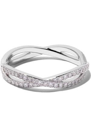 De Beers 18kt 'Infinity' Weißgoldring mit Diamanten - White