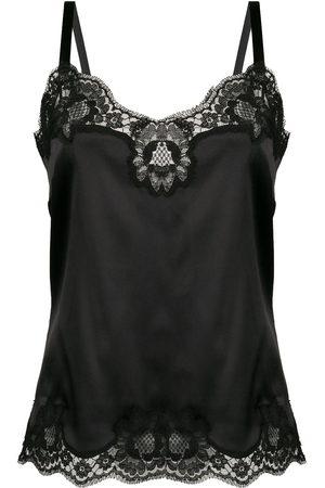 Dolce & Gabbana Camisole-Top mit Spitzeneinsätzen