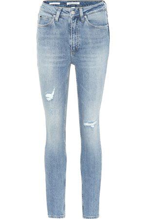Calvin Klein Damen Skinny - Skinny Jeans aus Baumwolle