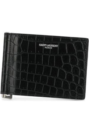Saint Laurent Herren Geldbörsen & Etuis - Portemonnaie mit Logo-Schild