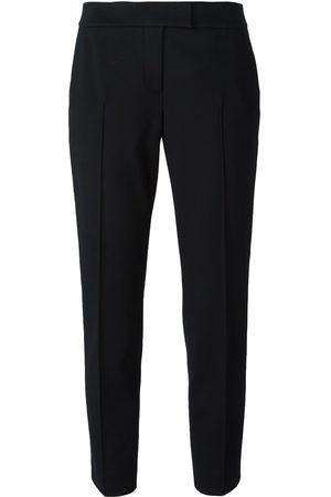 AKRIS Damen Stoffhosen - Cropped-Hose mit Bügelfalten