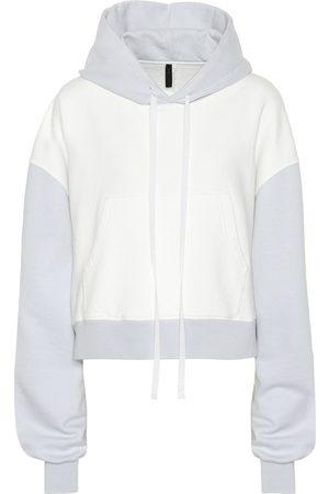 UNRAVEL Damen Sweatshirts - Hoodie aus Baumwoll-Jersey