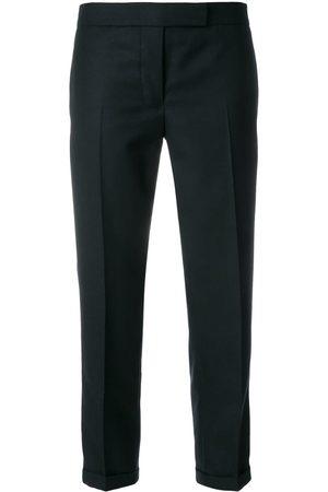 Thom Browne Cropped-Hose mit Logo-Streifen