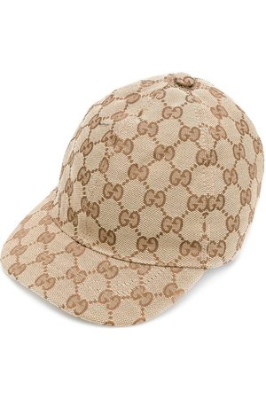 Gucci Baseballkappe mit Monogrammmuster - Nude