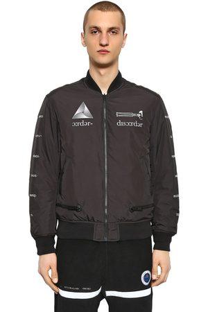 UNDERCOVER Printed Reversible Nylon Bomber Jacket