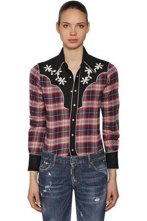 "Dsquared2 Hemd Aus Baumwolle ""rodeo"""