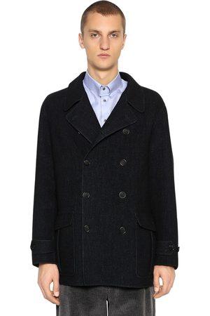 Armani Doppelreihiger Mantel Aus Wolle