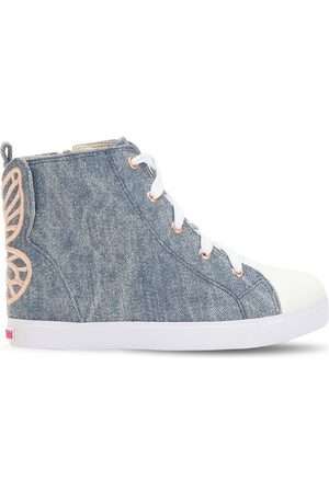 "SOPHIA WEBSTER Hohe Sneakers Aus Mit Stickerei ""bibi"""