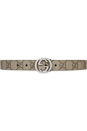 Gucci Mädchen Gürtel - Children's GG Supreme belt