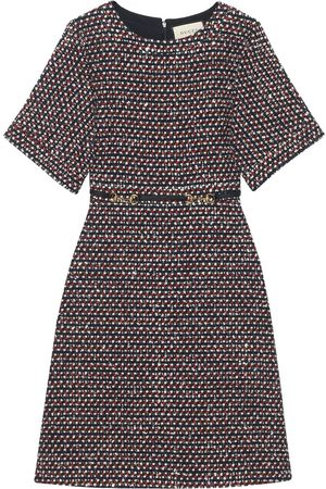 Gucci Damen Freizeitkleider - Sequin tweed dress