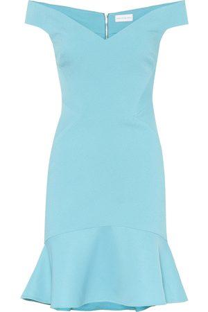 Rebecca Vallance Off-Shoulder-Kleid Anise aus Jacquard