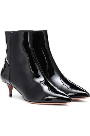 Aquazzura Ankle Boots Quant aus Lackleder