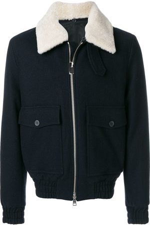 AMI ALEXANDRE MATTIUSSI Herren Sommerjacken - Shearling Collar Zipped Jacket