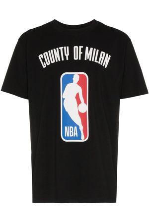 MARCELO BURLON COUNTY OF MILAN T-Shirt mit NBA-Print