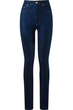 AMAPÔ Skinny-Jeans mit hohem Bund