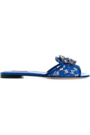 Dolce & Gabbana Verzierte 'Bianca' Pantoletten