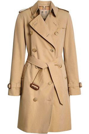 Burberry The Kensington Heritage Trench Coat - Nude