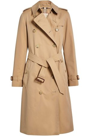 Burberry The Long Kensington Heritage Trench Coat - Nude