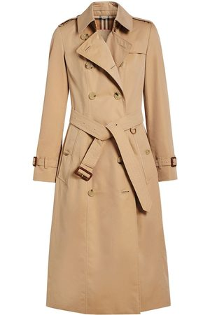 Burberry The Long Chelsea Heritage Trench Coat - Nude