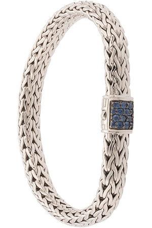 John Hardy Classic Chain' Sterlingsilber-Armband mit Saphir
