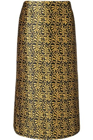La DoubleJ Jacquard pencil skirt