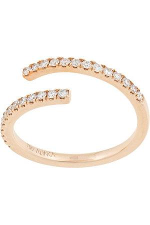 ALINKA 18kt 'Eclipse' Gelbgoldring mit Diamanten