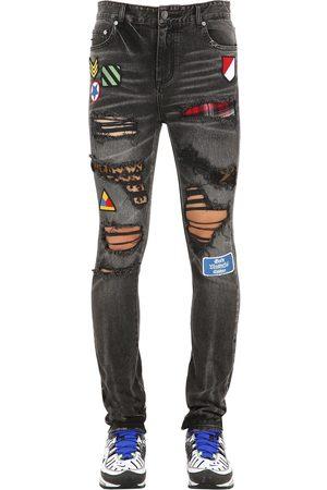 """GMC - GOD'S MASTERFUL CHILDREN Jeans Aus Bauwolldenim """"pistol"""""""