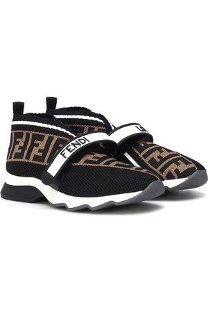 Fendi Sneakers Rockoko aus Strick