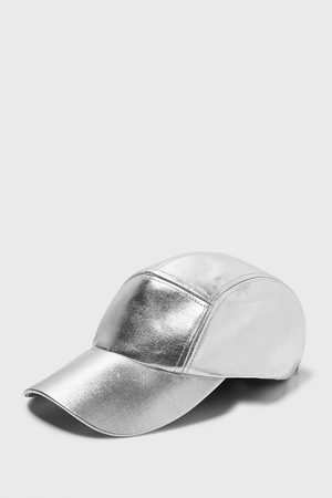 Zara BASEBALLCAP MIT METALLIC-FINISH