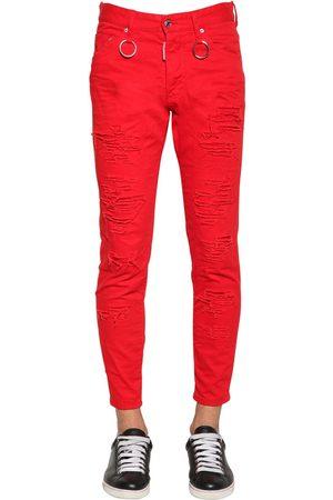 """Dsquared2 15cm Jeans Aus Baumwolldenim """"skinny Dan"""""""