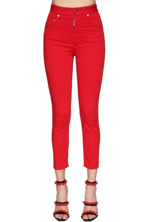 "Dsquared2 Damen Stretch - Jeans Aus Stretch-denim ""twiggy"""
