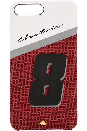 Chaos Damen Handy - Iphone 8/7 Plus-cover Aus Leder Mit Druck