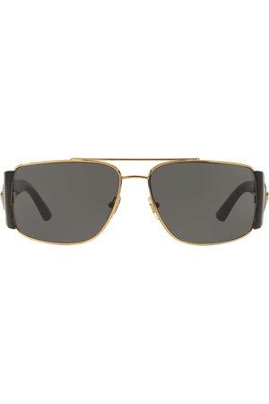 VERSACE Pilotenbrille mit breiten Bügeln