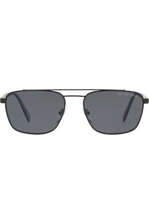Prada Pilotenbrille mit getönten Gläsern