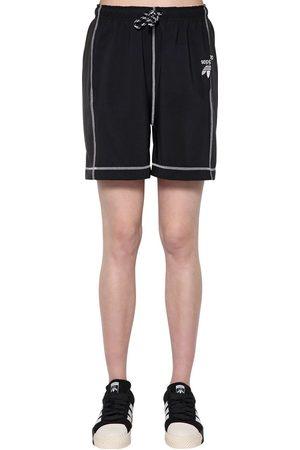adidas Shorts Aus Technosatin Und Baumwolle