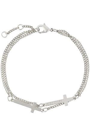 Dsquared2 Armband mit Kreuzen - Metallisch