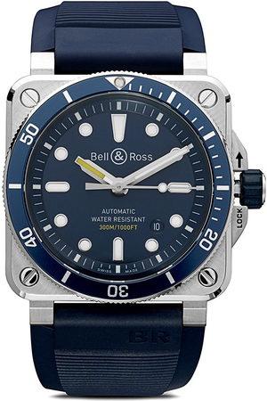 Bell & Ross BR 03-92' Armbanduhr, 42mm - Blue