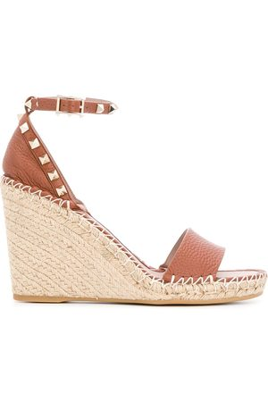 Valentino Garavani Rockstud double wedge sandals
