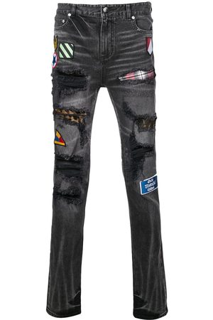 God's Masterful Children Pistol' Jeans mit Patches