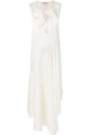 Fendi Asymmetrisches Kleid - Nude