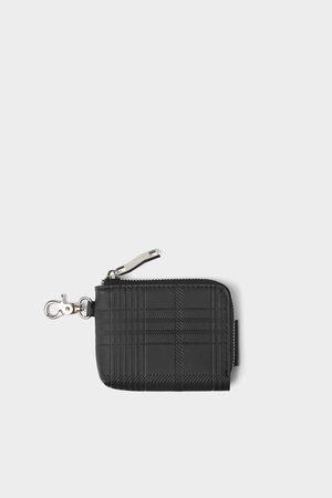 Zara Elegantes schwarzes portemonnaie